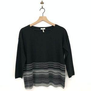 Joie Striped Pullover Sweater XS Wool Cashmere